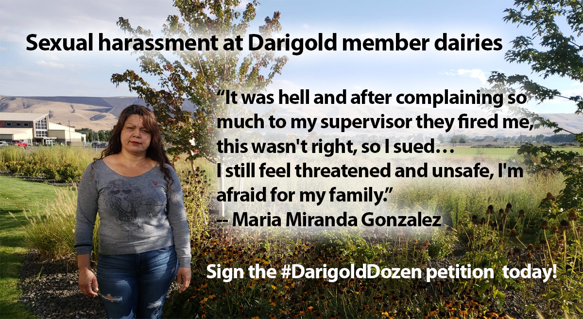 Sexual harassment at Darigold – UFW